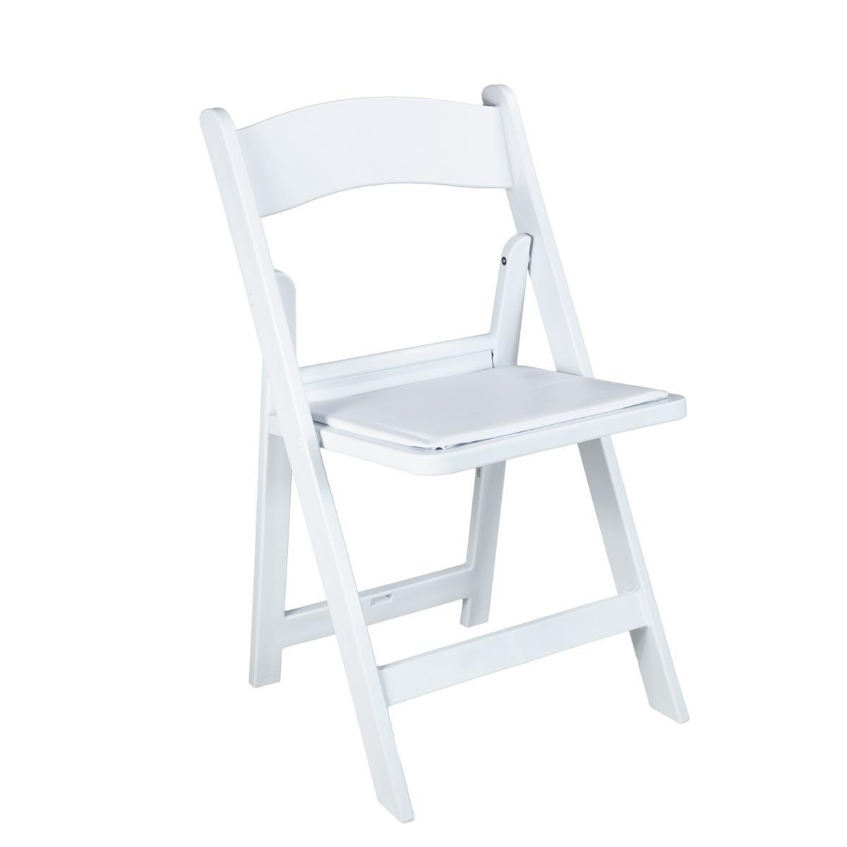 Sympathisch Klappstuhl Gepolstert Das Beste Von   Weiß [mieten]